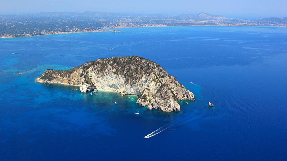 obiective-turistice-zakynthos-Insula-Marathonissi-Caretta-Caretta