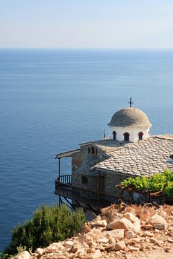 Manastirea thassos obiectiv turistic