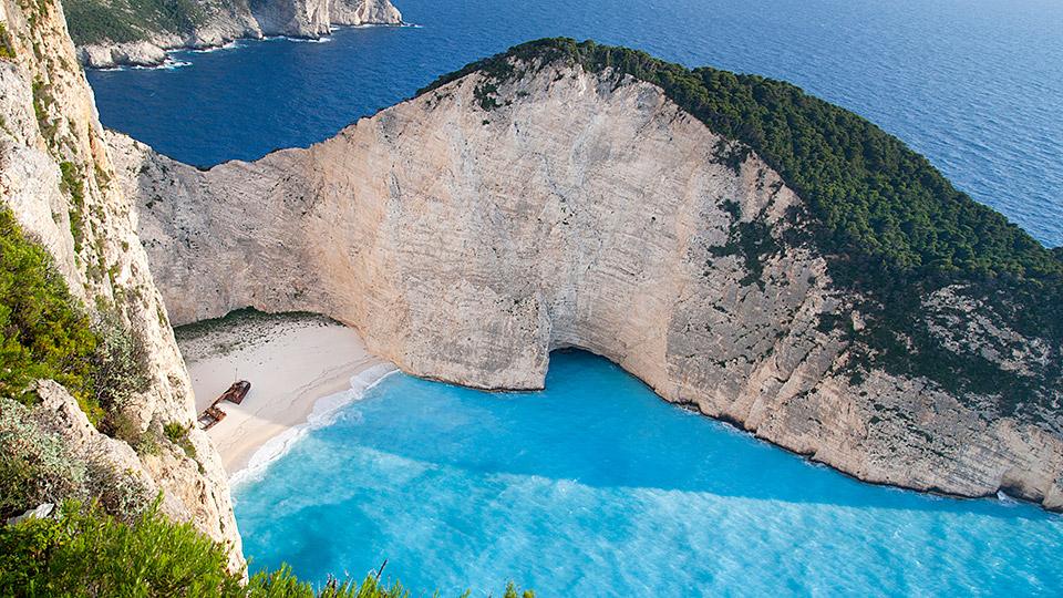 plaje zakynthos grecia