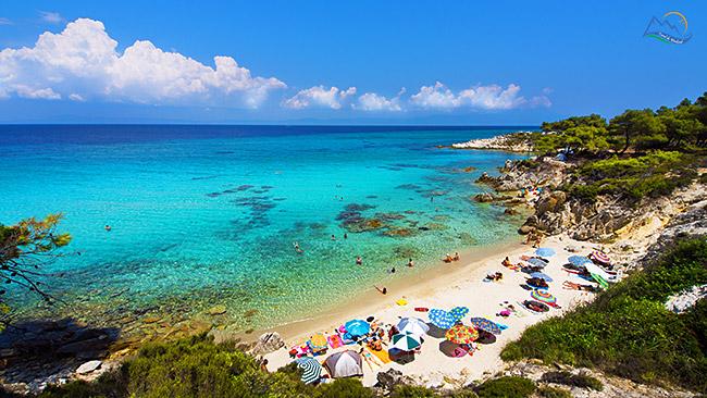 despre halkidiki paradise beach