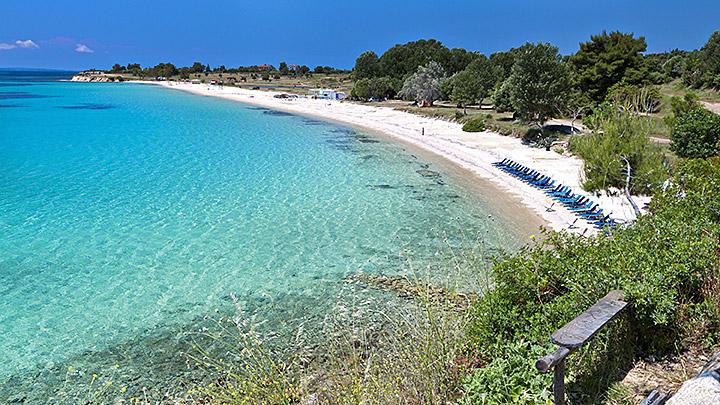 Plaja Agios Ioannis Halkidki