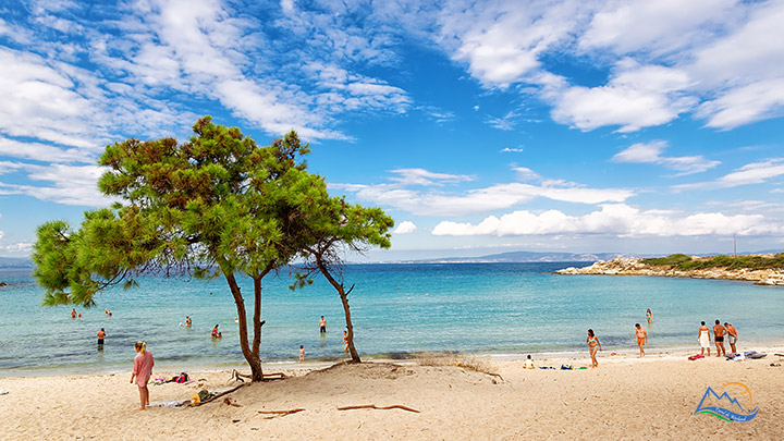 Plaja Vourvourou Halkidiki