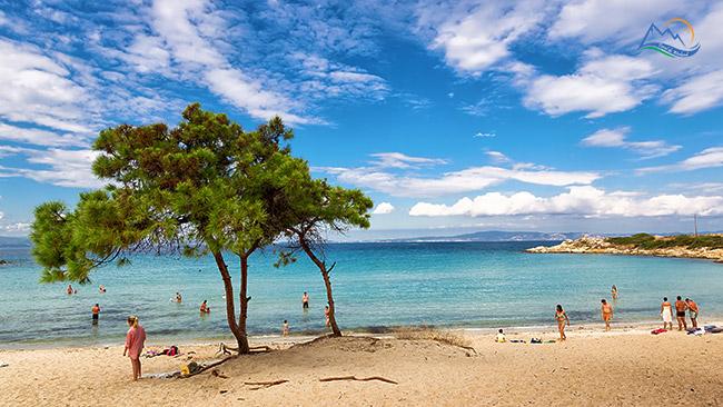 plaje halkidiki Vourvourou