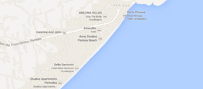 Plaja Agios Georgios santorini