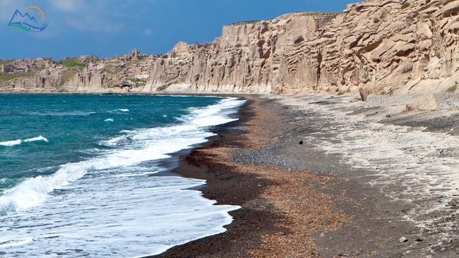 Plaja Vlihada santorini