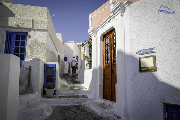 obiective turistice santorini Pyrgos