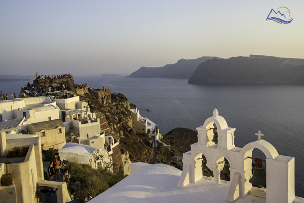 obiective turistice santorini oia