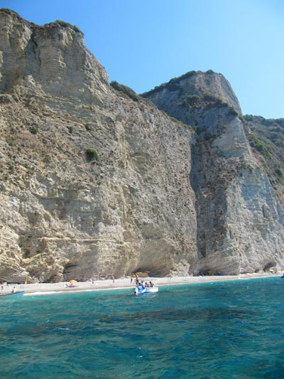 paradise beach corfu