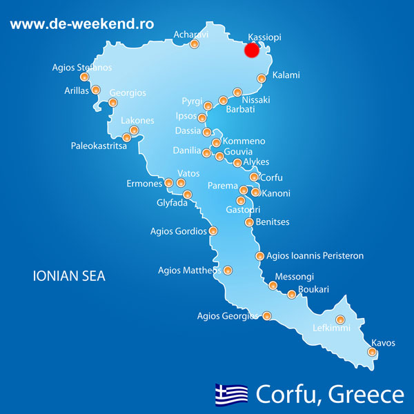 Kassiopi Corfu Ghid Turistic Grecia De Weekend