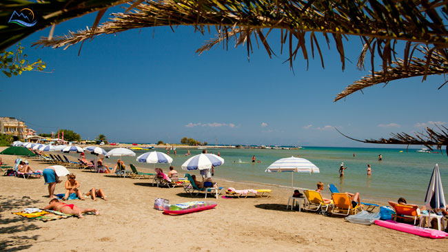 sidari corfu plaja