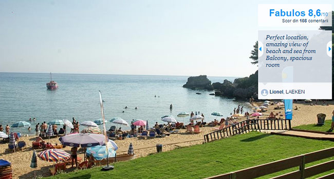 cazare corfu Glyfada Beach Hotel