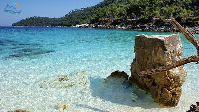 plaja marble thassos
