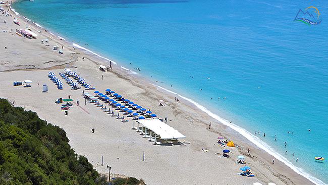 Plaja Valtos parga grecia