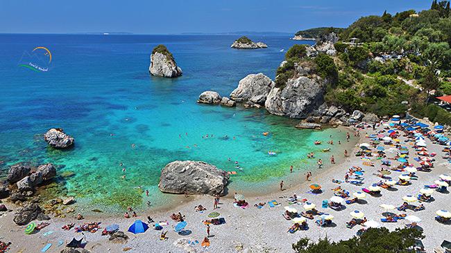 Plaja parga grecia Pyso Kryoneri