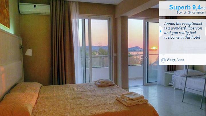 cazare corfu sidari beach hotel