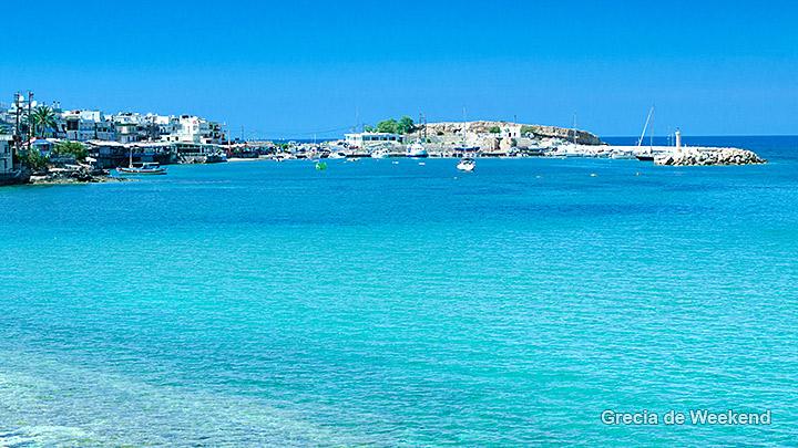 Hersonissos creta plaje