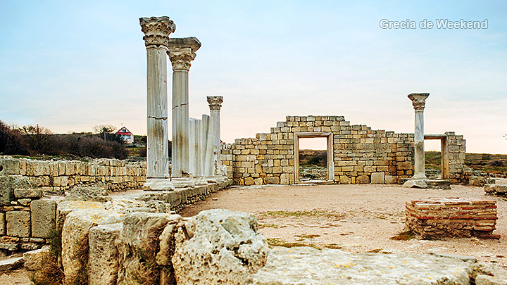 Hersonissos creta vechiul oras