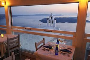 insula santorini blue note restaurant