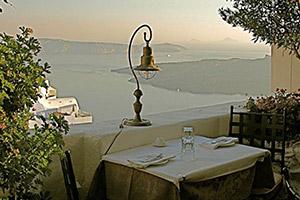 insula santorini firostefani restaurant Vanilia
