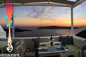 insula santorini firostefani restaurant