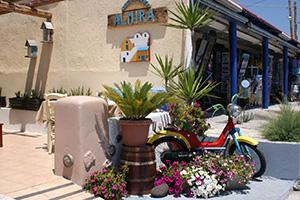 insula santorini kamari almira restaurant