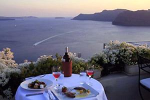insula santorini oia 1800 restaurant