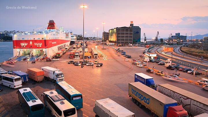 obiective turistice atena - portul pireu