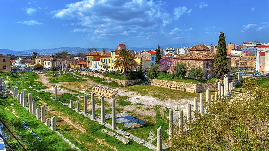 agora obiective turistice atena