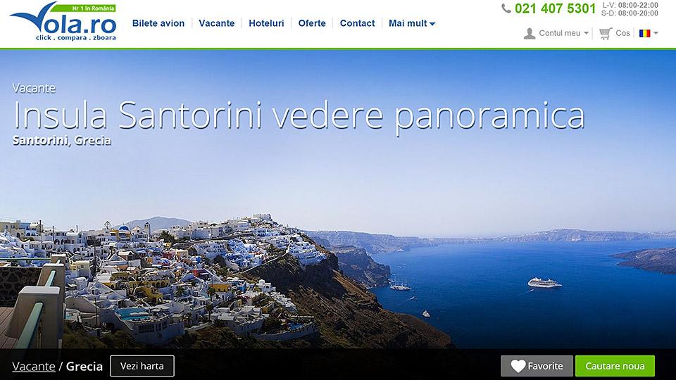 top destinatii Grecia oferte turistice vola