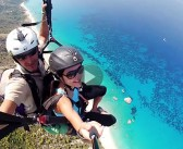 [VIDEO] Paragliding over Lefkada