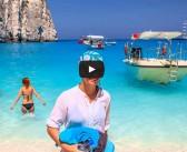 [VIDEO] Zakynthos, plaja Navaggio