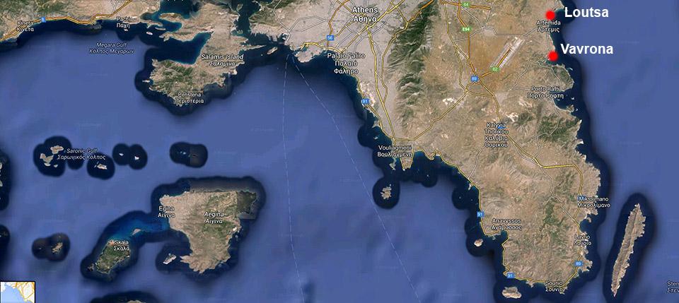 plaje atena est