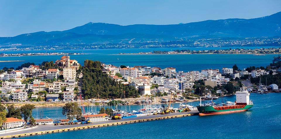 Halkida capitala insulei evia