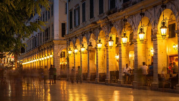 Piata-Spianada-Corfu