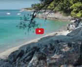 [VIDEO] Insula Skopelos, Plaje