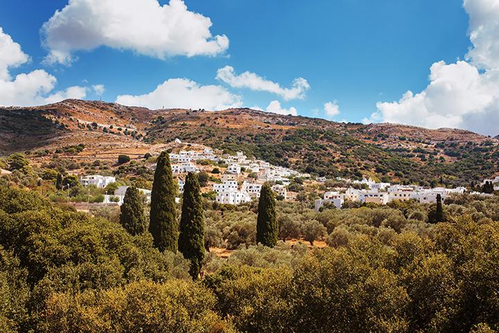 Filoti-in-Naxos-Islan