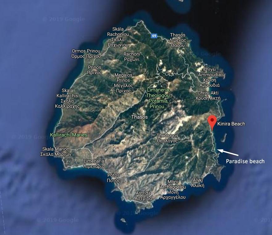 harta-kinira-thassos plaja