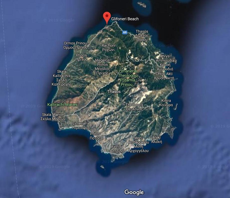 plaja-Glifoneri-harta