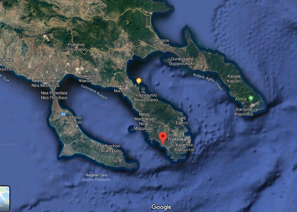 plaja-Tristinika-harta