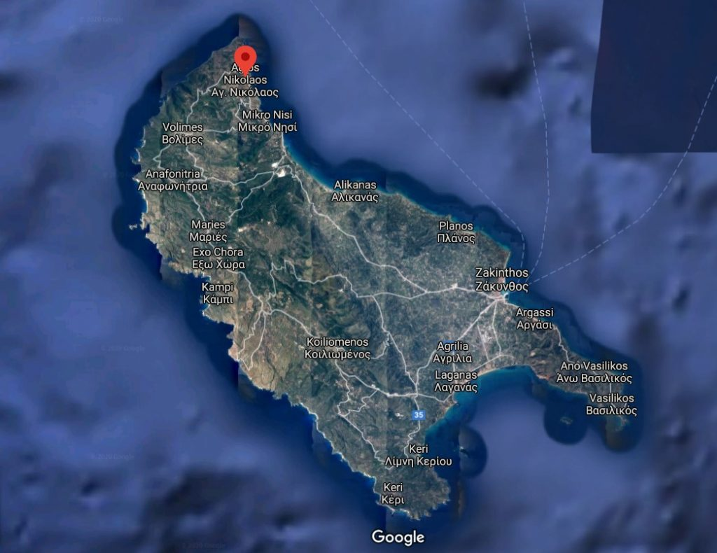 localizare-plaja-Agios-Nikolaos