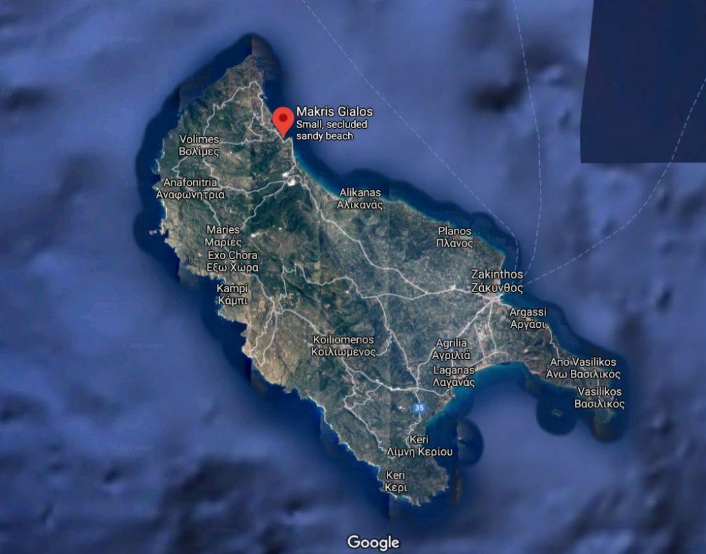 localizare-plaja-Makris-Gialos