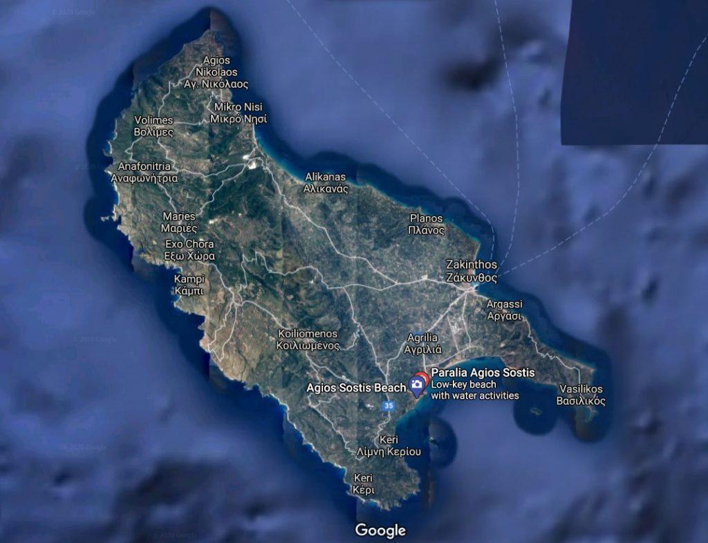 localizare-plaja-porto-agios-sostis