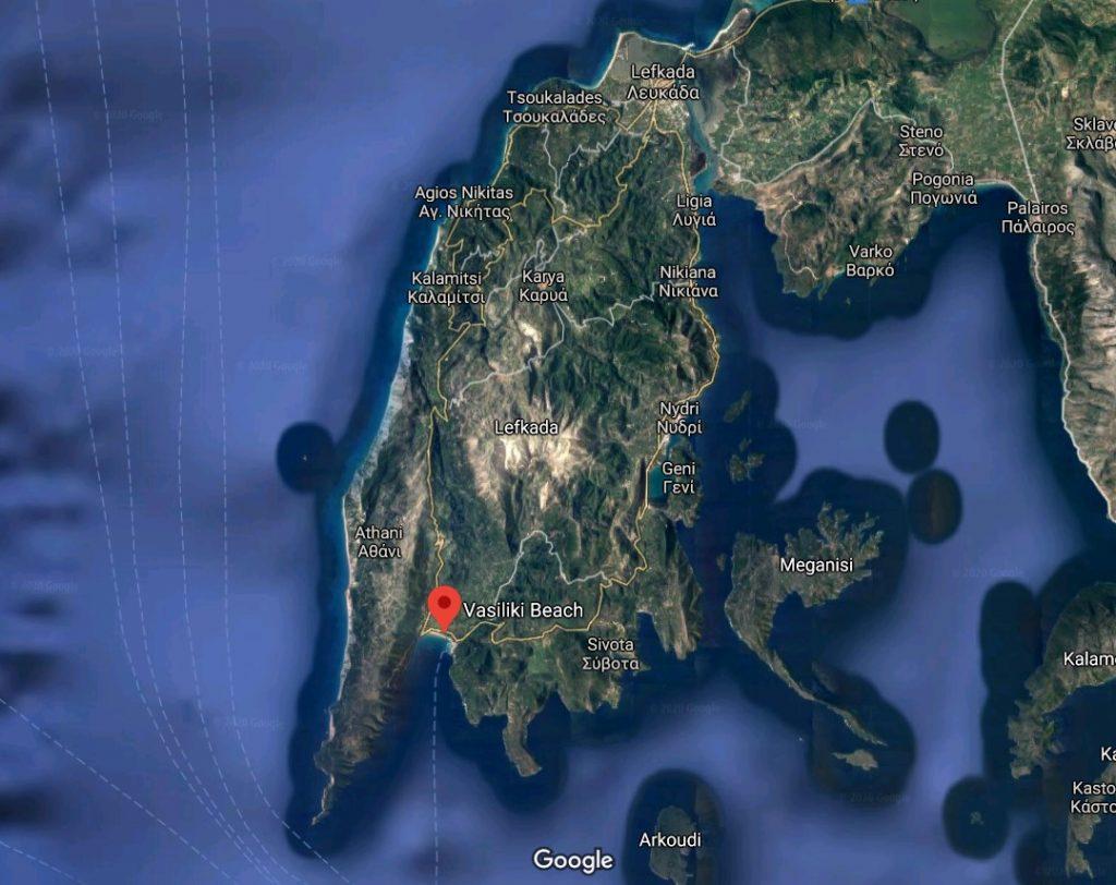 plaja-vassiliki-localizare