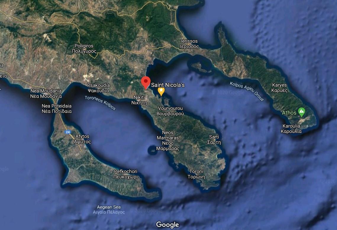 Agios-Nikolaos-halkidiki-harta